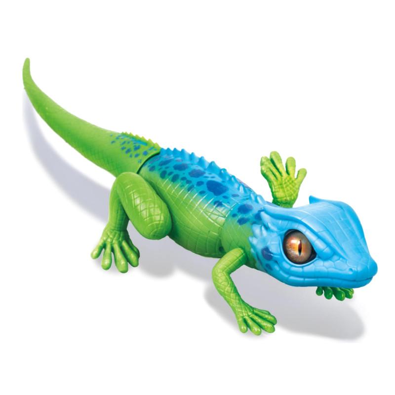 Игрушка Zuru RoboAlive Робо-ящерица Green-Blue Т10993