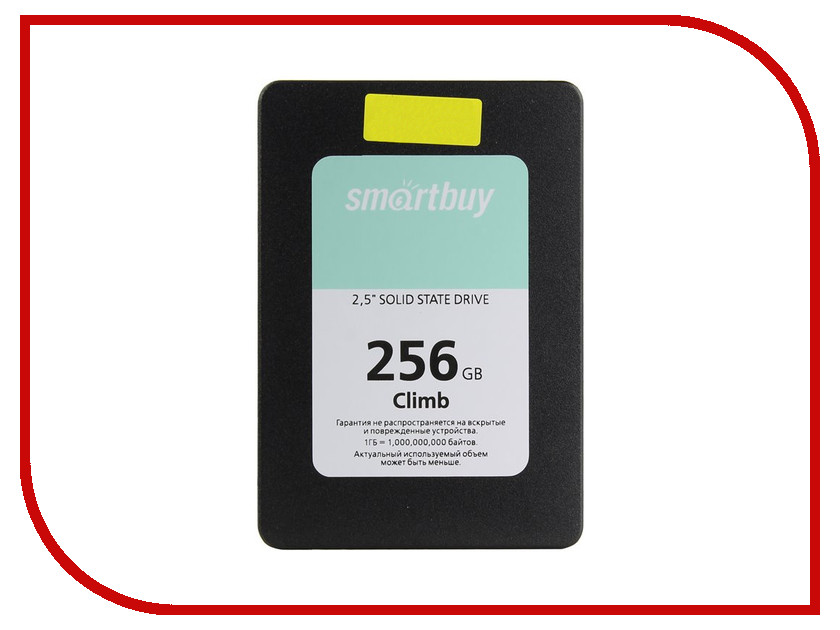 Жесткий диск 256Gb - SmartBuy Climb SB256GB-CLB-25SAT3 smartbuy smartbuy hello белый