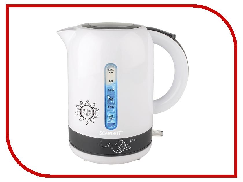 Чайник Scarlett SC-EK18P38 соковыжималки электрические scarlett соковыжималка цитрусовая scarlett sc je50c03 90вт