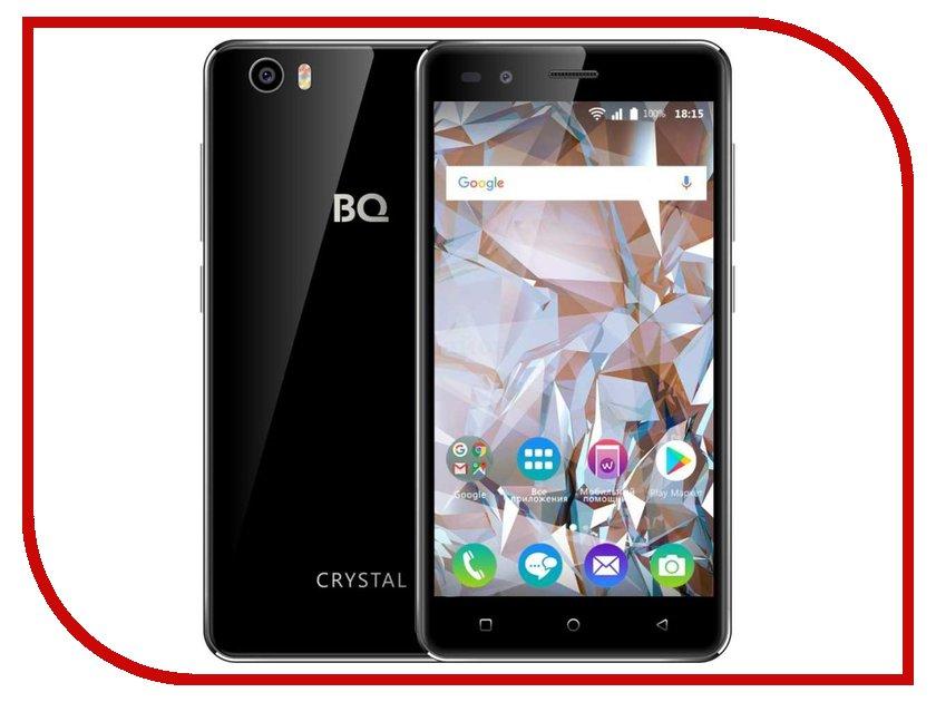 Сотовый телефон BQ 5054 Crystal Black сотовый телефон bq bqm 1800 respect black