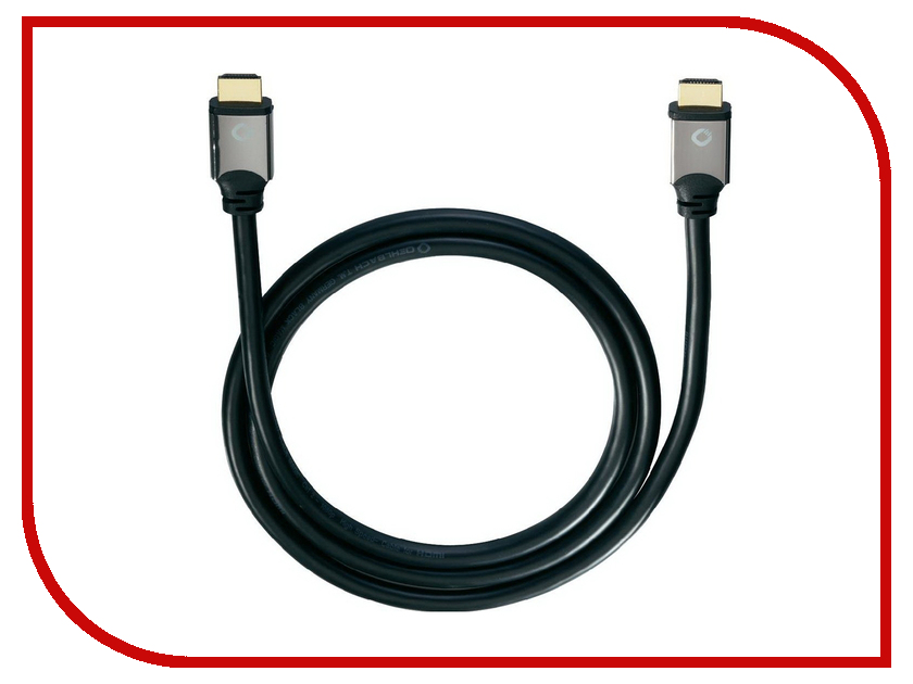 купить Аксессуар Oehlbach HDMI 1.7m Black 92453 недорого