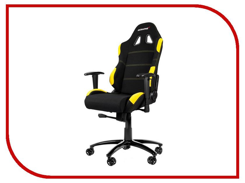 Компьютерное кресло AKRacing K7012 Black-Yellow AK-K7012-BY