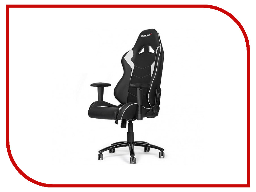 Компьютерное кресло AKRacing Octane Black-White AK-OCTANE-WT