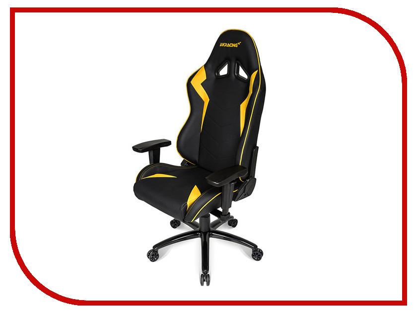 Компьютерное кресло AKRacing Octane Black-Yellow AK-OCTANE-YW
