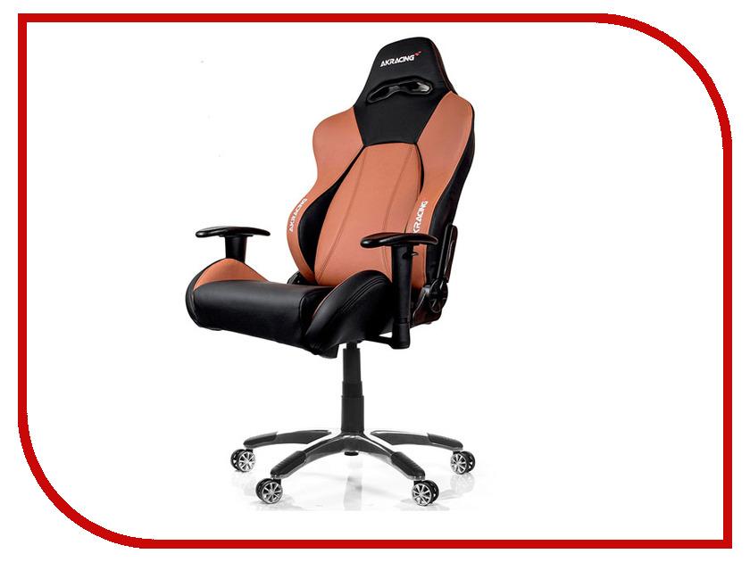 Компьютерное кресло AKRacing Premium Black-Brown AK-7001-BB