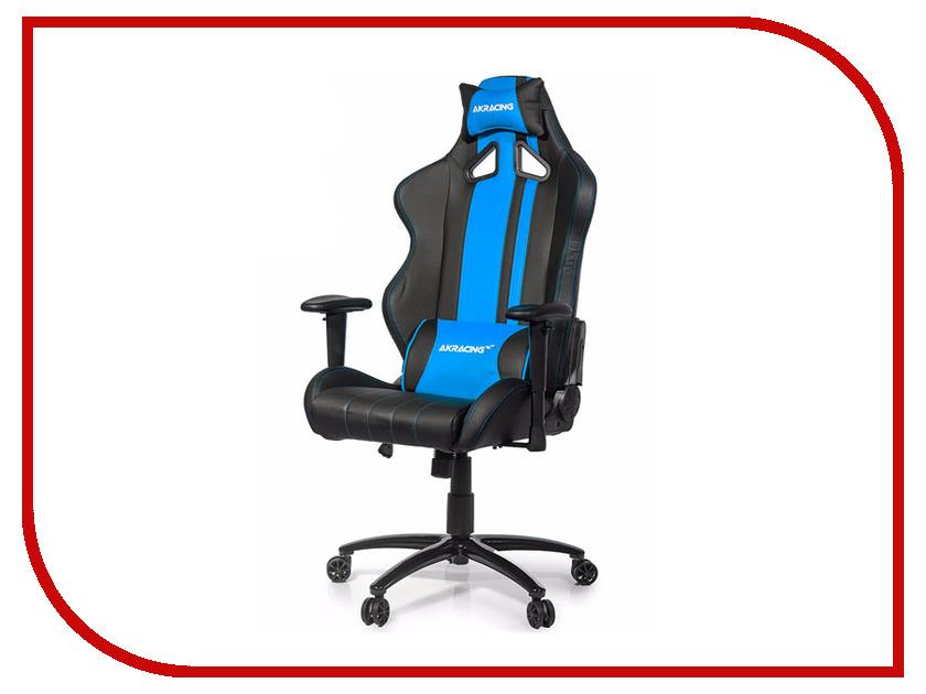 Компьютерное кресло AKRacing Rush Black-Blue AK-RUSH-BL