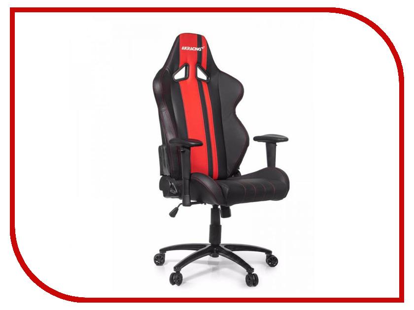 Компьютерное кресло AKRacing Rush Black-Red AK-RUSH-RD