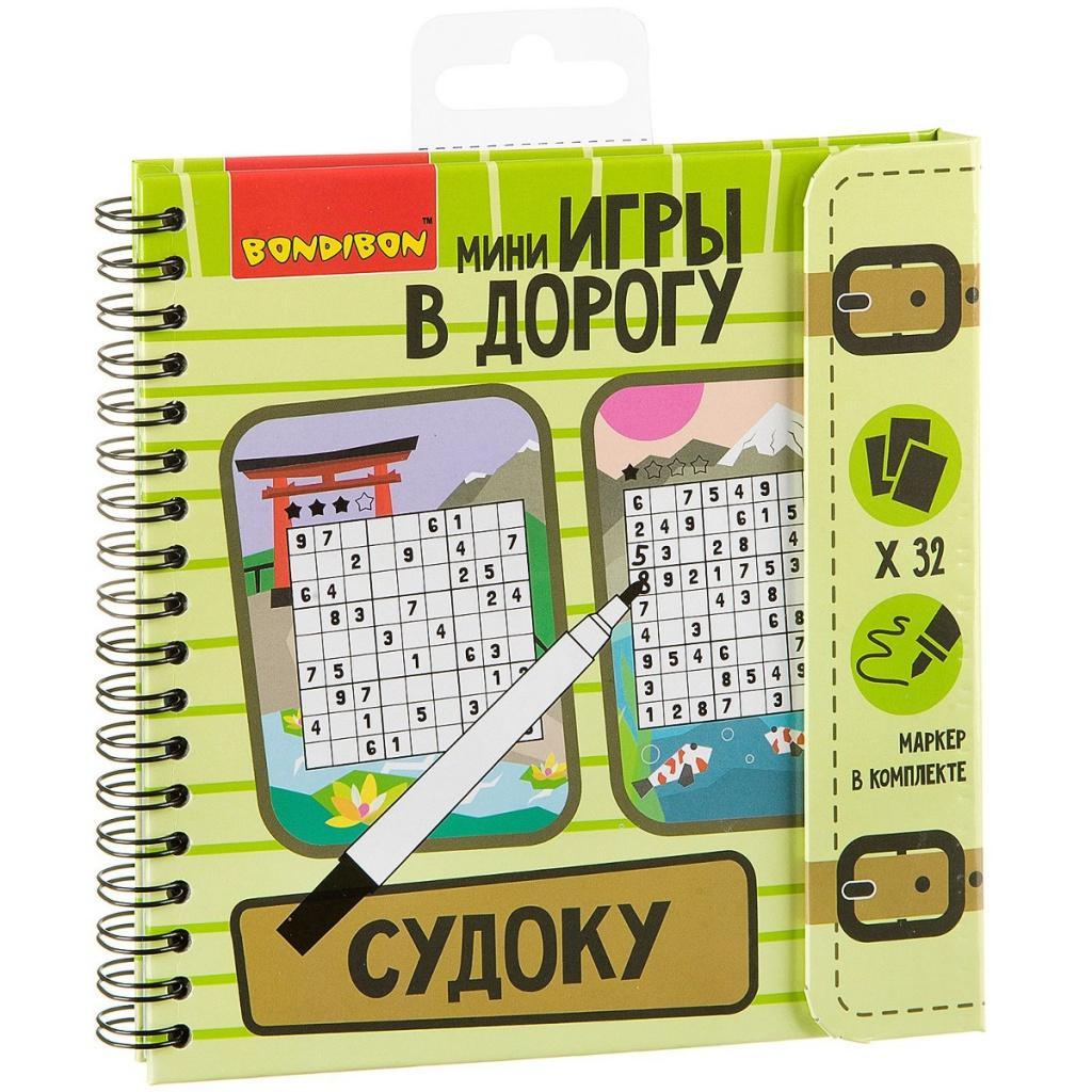 Головоломка Bondibon Судоку ВВ2131