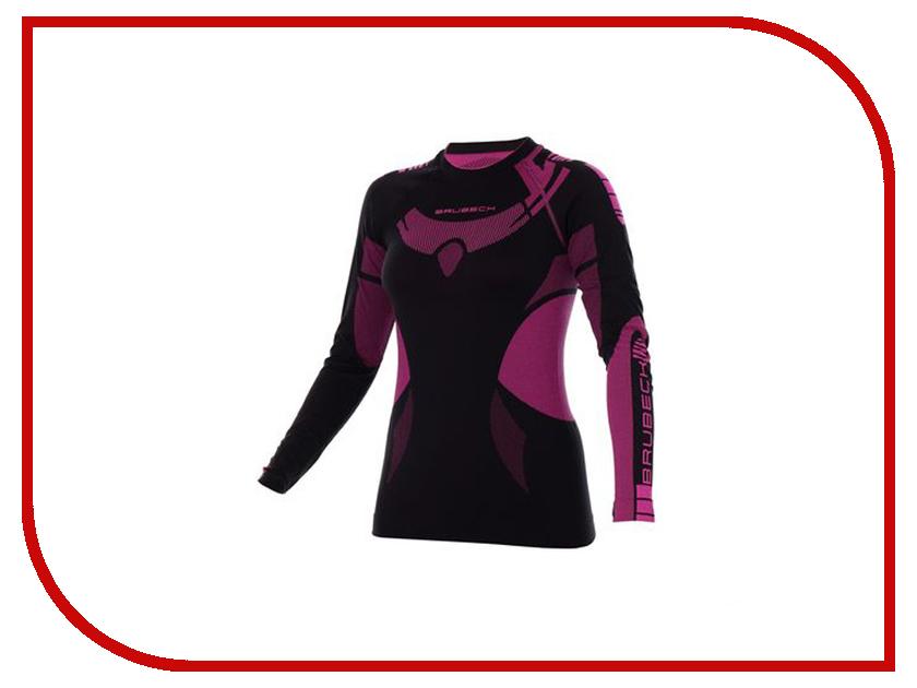 цена Рубашка Brubeck Dry XL Black-Amarate LS13070 женская онлайн в 2017 году