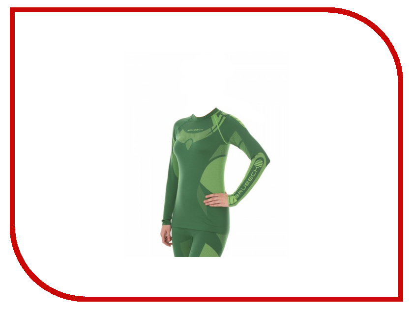Футболка Brubeck Dry M Green-Lemon LS13070 женская