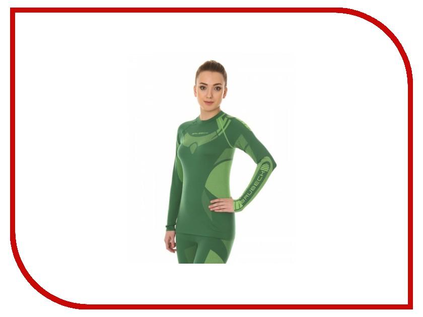 цена  Рубашка Brubeck Dry XL Green-Lemon LS13070 женская  онлайн в 2017 году