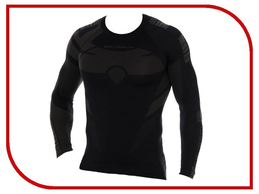Футболка Brubeck Dry L Black-Graphite LS13080 мужская