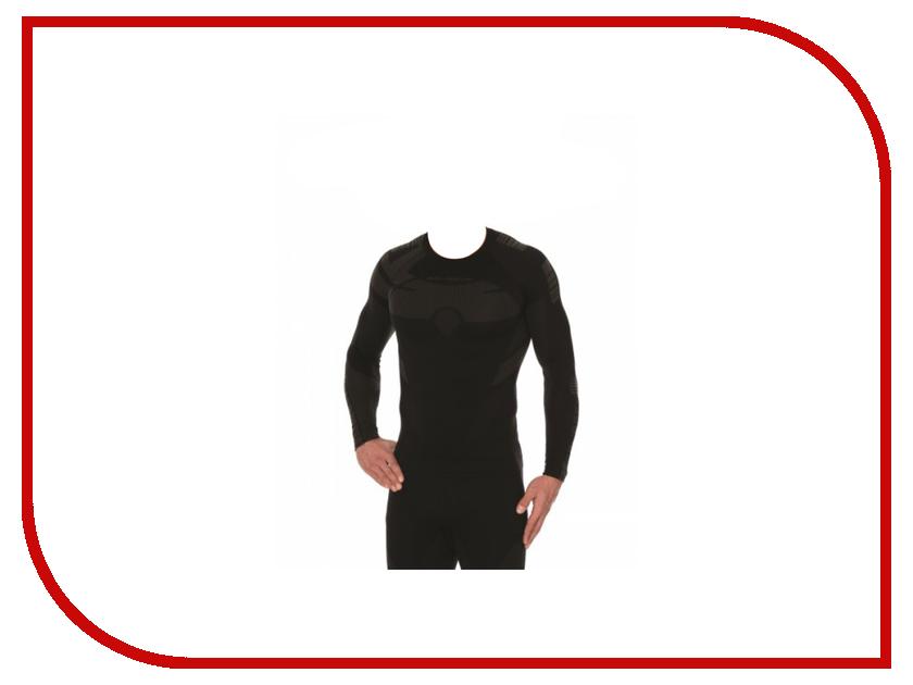 Рубашка Brubeck Dry S Black-Graphite LS13080 мужская