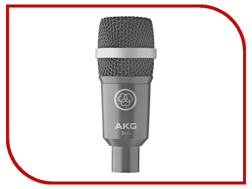 Микрофоны D40  Микрофон AKG D40