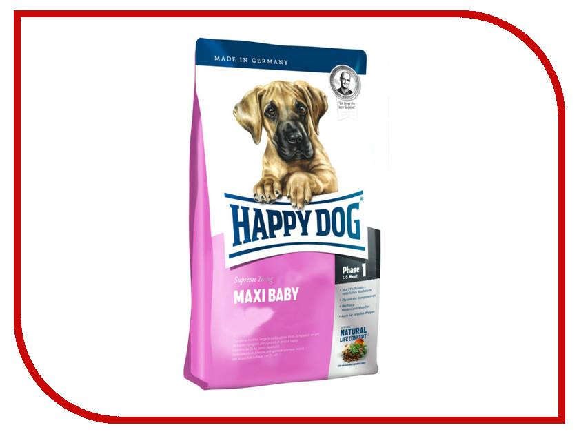 Корм Happy Dog Maxi Baby - 4kg 03424 для щенков корм для щенков монже