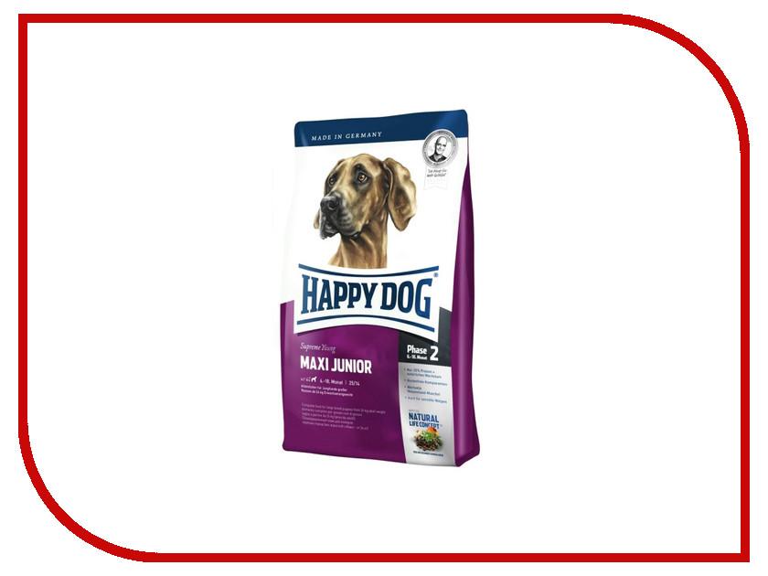Корм Happy Dog Maxi Junior - 1kg 03503 для щенков футболка классическая printio gta 5 dog