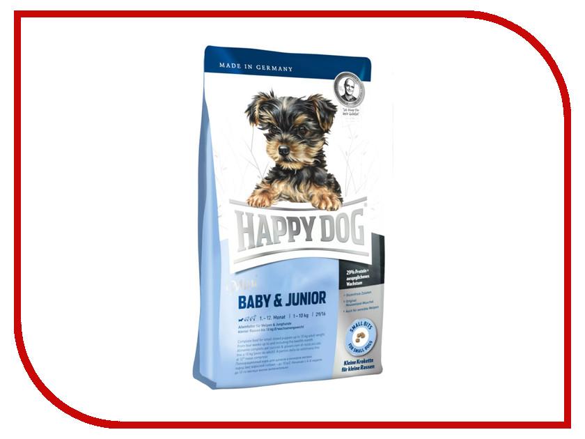 Корм Happy Dog Mini - 1kg 03409 для щенков корм сухой happy dog supreme mini irland 4 кг