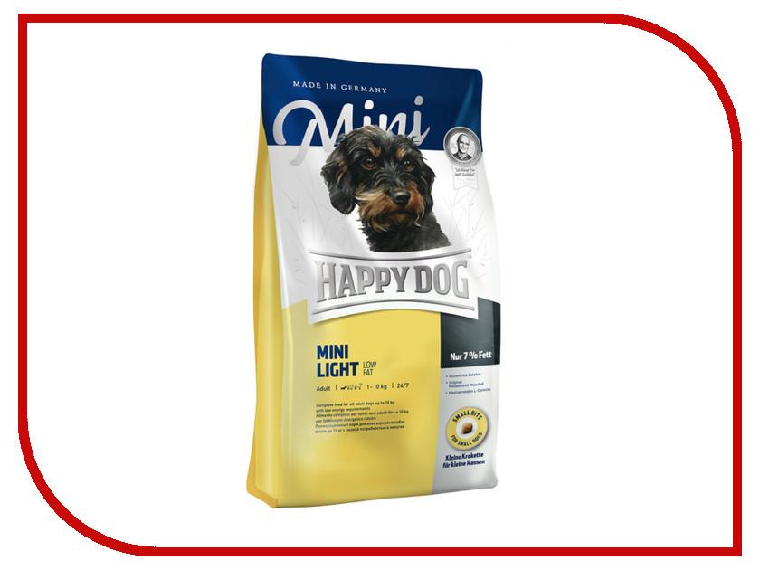 Корм Happy Dog Mini Light Adult - 1kg 60102 для собак happy dog корм для собак купить спб