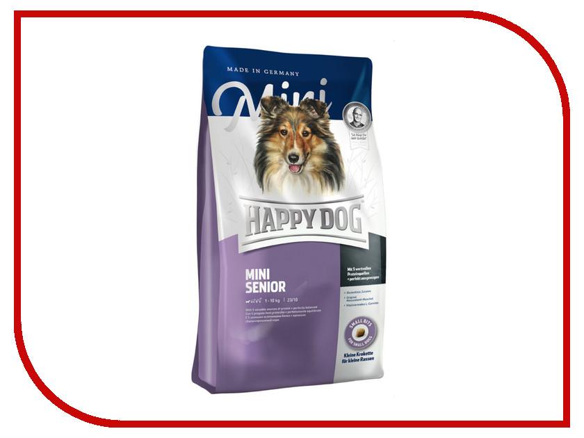 Корм Happy Dog Mini Senior - 1kg 60106 для собак корм dog chow senior ягненок 2 5kg для собак старше 9 лет 12308782