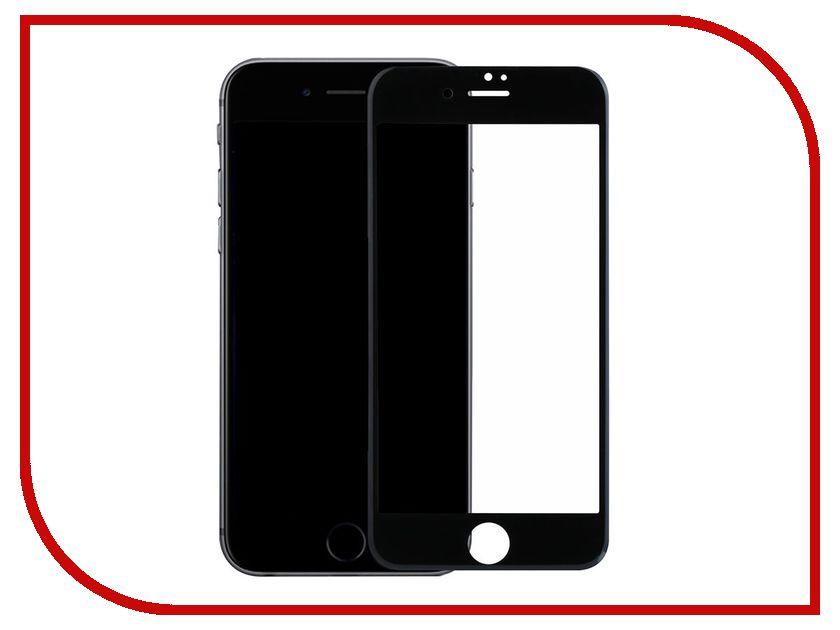 Аксессуар Защитное стекло Ainy Full Screen Cover 3D 0.2mm с силиконовыми краями для APPLE iPhone 7 Black аксессуар защитное стекло ainy full screen cover 0 33mm для apple iphone x white