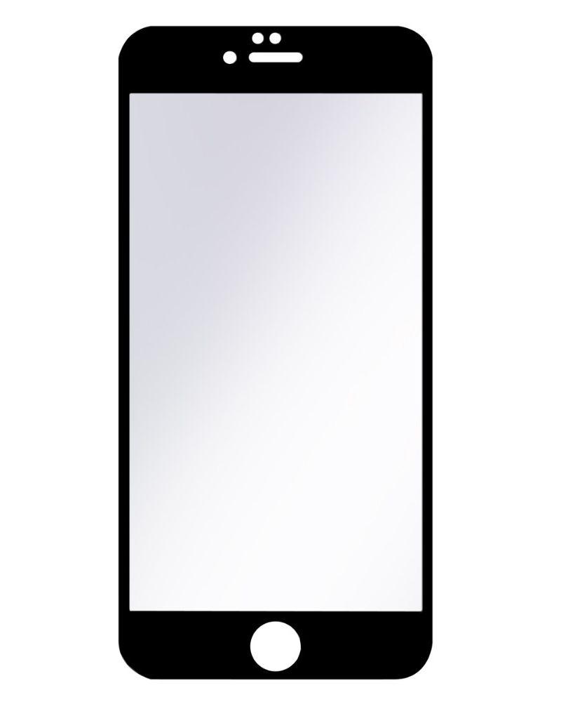Аксессуар Защитное стекло Ainy для APPLE iPhone 7 Plus / 8 Plus Full Screen Cover 3D 0.2mm с силиконовыми краями Black AF-A878A