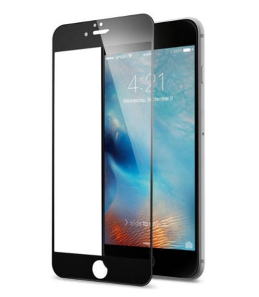 Аксессуар Защитное стекло Ainy для APPLE iPhone 6 / 6S 3D Full Screen Cover 0.33mm с силиконовыми краями Black AF-A890A