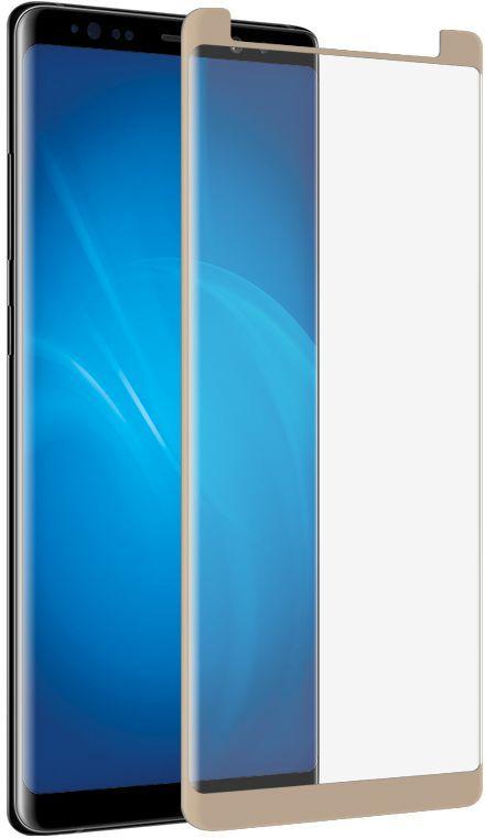Аксессуар Защитное стекло для Samsung Galaxy Note 8 Ainy Full Screen Cover 3D 0.2mm Gold AF-S1004L аксессуар защитное стекло для samsung galaxy j7 2017 ubik full screen gold