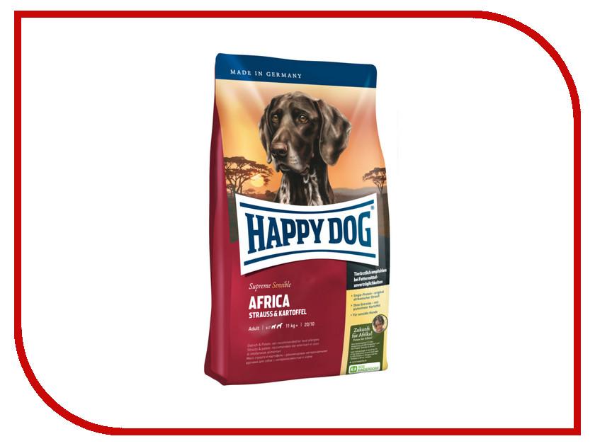 Корм Happy Dog Supreme Africa - 1kg 03546 для собак корм happy dog vet diet struvit курица ягненок морепродукты 12 5kg для собак