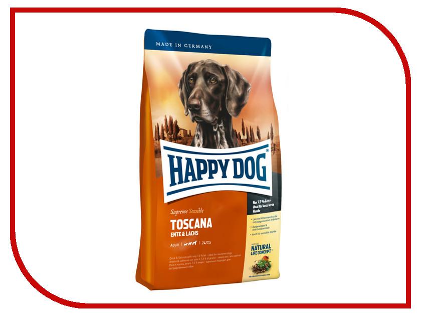 Корм Happy Dog Supreme Toscana - 4kg 03541 для собак корм happy dog vet diet struvit курица ягненок морепродукты 12 5kg для собак