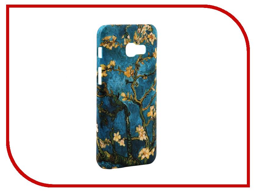 Аксессуар Чехол Samsung Galaxy A3 2017 A320 With Love. Moscow Sakura 7005