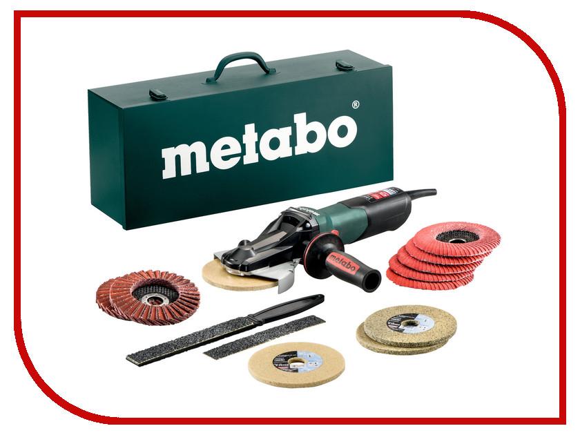 Шлифовальная машина Metabo WEVF 10-125 Quick Inox SET 613080500 шлифовальная машина metabo w 9 125 quick 600374500