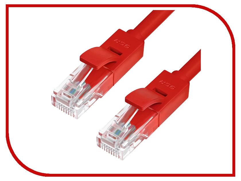 Сетевой кабель Greenconnect Premium UTP 30AWG cat.6 RJ45 T568B 1m Red GCR-LNC624-1.0m аксессуар greenconnect utp 23awg cat 6 rj45 t568b 1m black gcr lnc606 1 0m