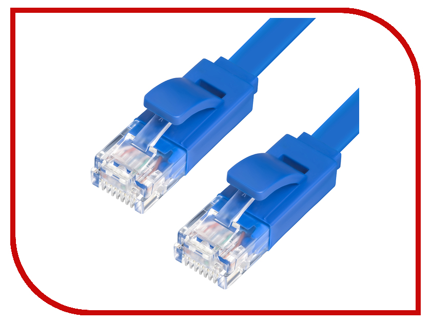 Сетевой кабель Greenconnect Premium UTP 32AWG cat.5e RJ45 T568B 5m Blue GCR-LNC111-5.0m dc shoes рюкзак dc shoes the breed black fw17 one size