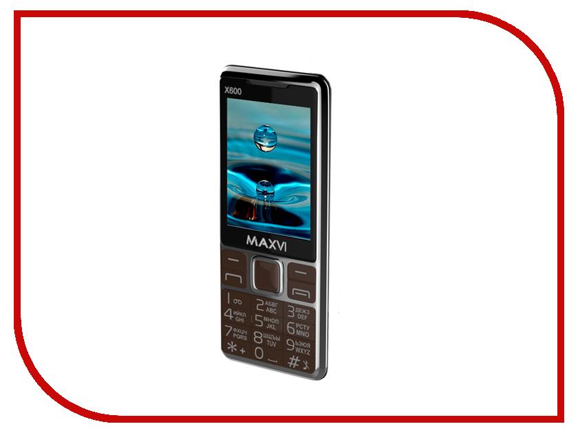 Сотовый телефон Maxvi X600 Coffee сотовый