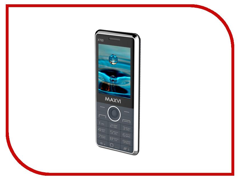Сотовый телефон Maxvi X700 Marengo сотовый телефон maxvi k11 brown