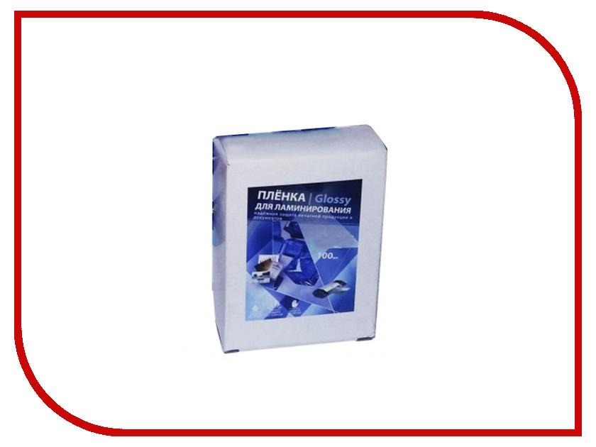 Пленка для ламинатора Bulros A4 100мкм 100шт пленка для ламинатора bulros a4 80мкм 100шт
