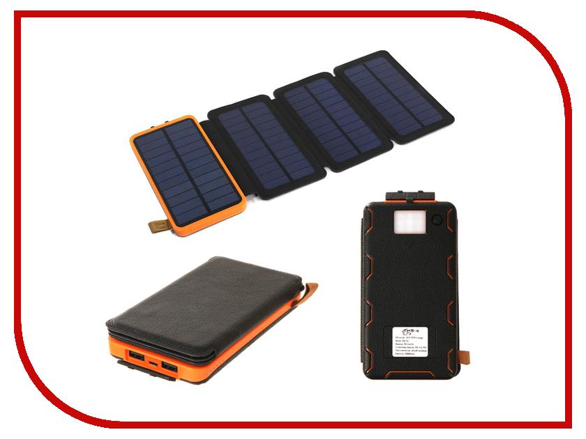Аккумулятор KS-is Solezz KS-332 10000mAh Orange внешний аккумулятор ks is power ks 277 6000 мач черный