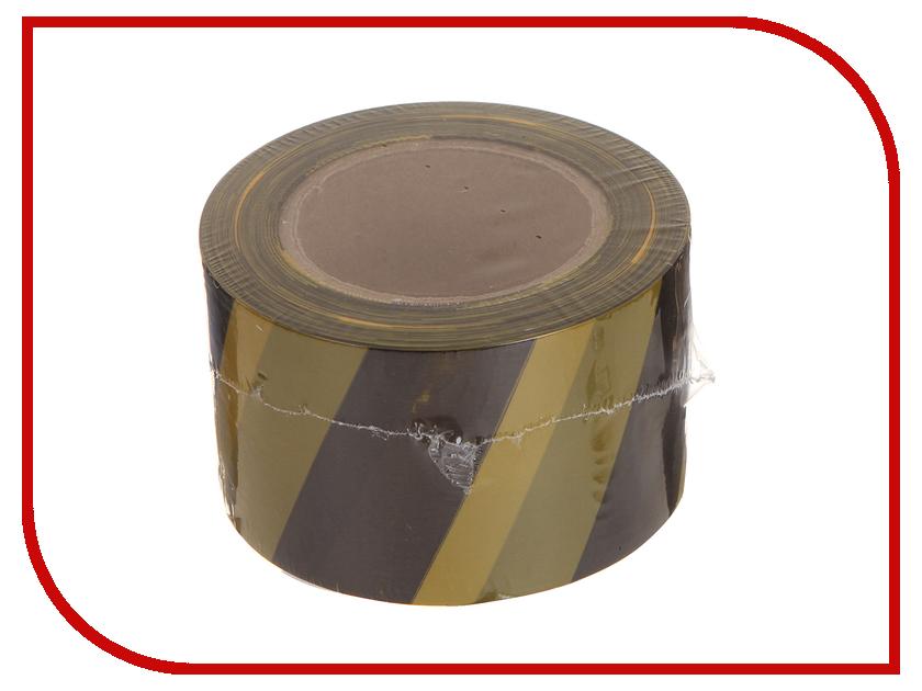 Сигнальная лента Зубр 12242-75-200 Black-Yellow black 75