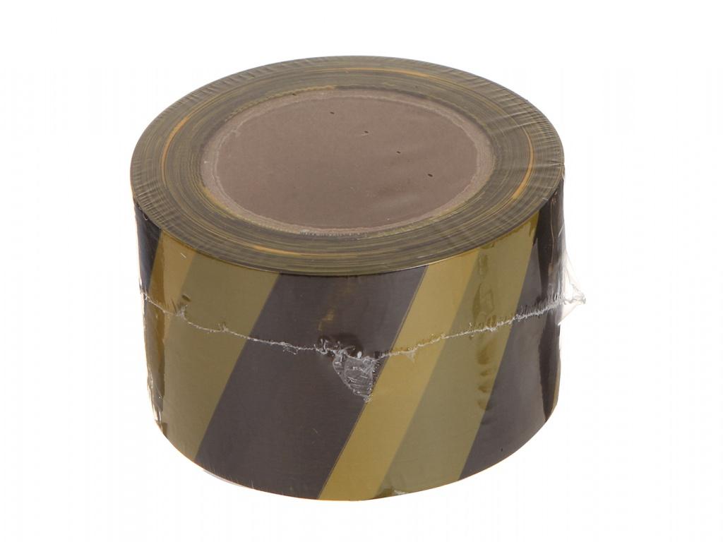 Сигнальная лента Зубр 12242-75-200 Black-Yellow