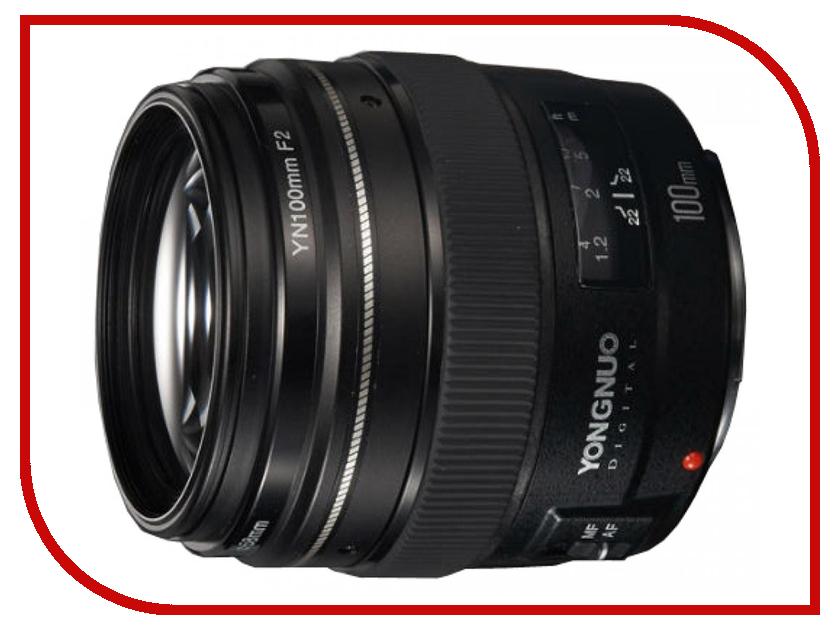 Объектив YongNuo Canon AF 100 mm F/2