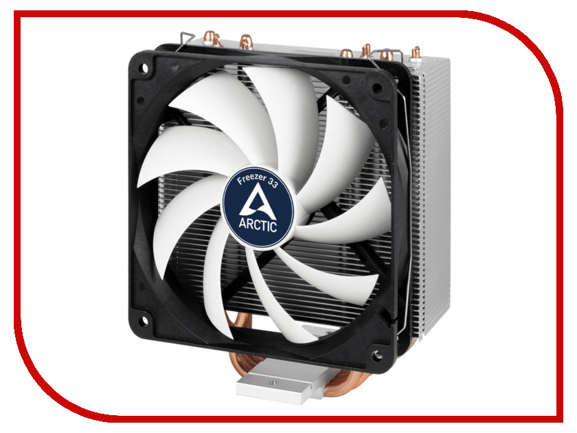 Кулер Arctic Freezer 33 ACFRE00028A cooler for cpu arctic cooling freezer 33 tr white acfre00039a 2066 2011v3 am4