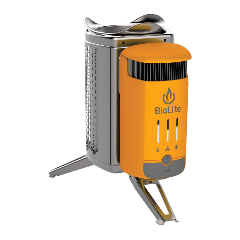 Печь генератор с зарядкой BioLite CampStove 2 CSC1001 ручной фонарик mokfire 18650