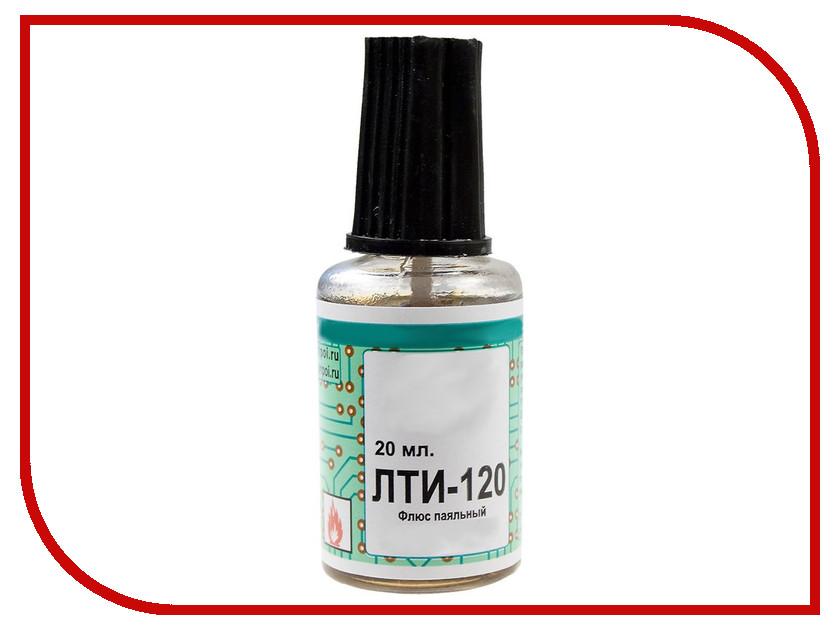 Флюс паяльный ПМ ЛТИ-120 20мл А010243 длинногубцы с круглыми губками 120 мм truper pm pr4 17370