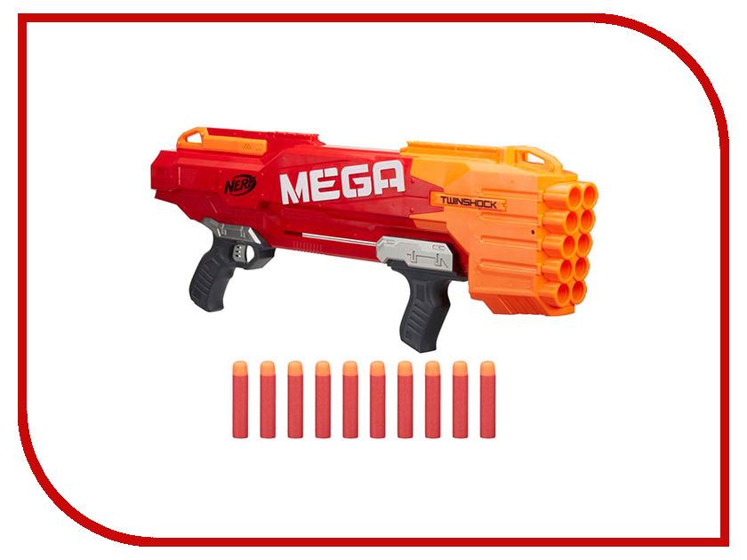 Игрушка Hasbro Nerf Мега B9894 hasbro nerf b9894 нёрф мега твиншок бластер