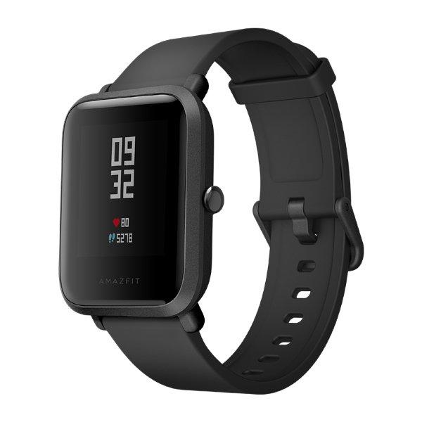 Умные часы Xiaomi Huami Amazfit Bip Black / Onyx Black умные часы xiaomi huami amazfit bip orange cinnabar red