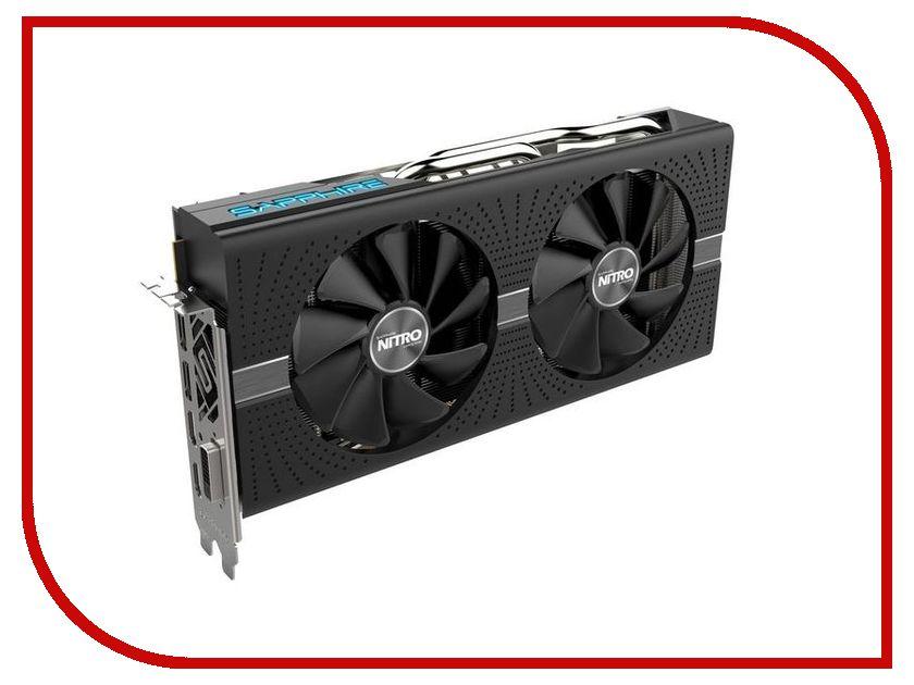 Видеокарта Sapphire Nitro+ Radeon RX 570 4GD5 1244Mhz PCI-E 3.0 4096Mb 7000Mhz 256 bit DVI 2xHDMI 11266-15-20G sapphire nitro radeon rx 580 8gb видеокарта