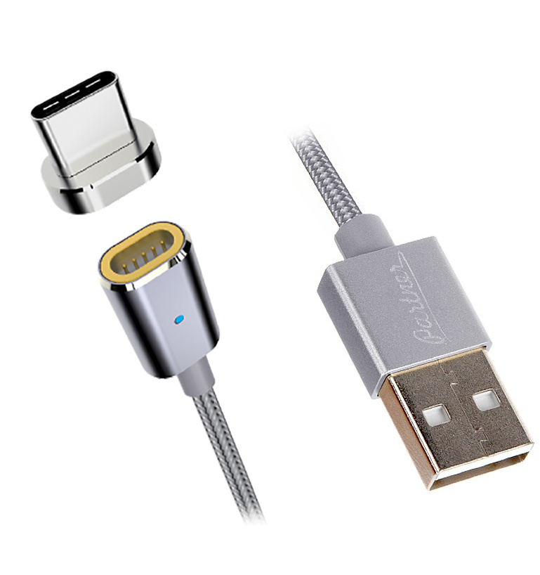 цена на Аксессуар Partner USB 2.0 - Type-C 1.2m ПР038389