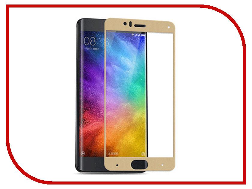 Аксессуар Защитное стекло Xiaomi Mi6 Svekla Full Screen Gold ZS-SVXIMI6-FSGOLD