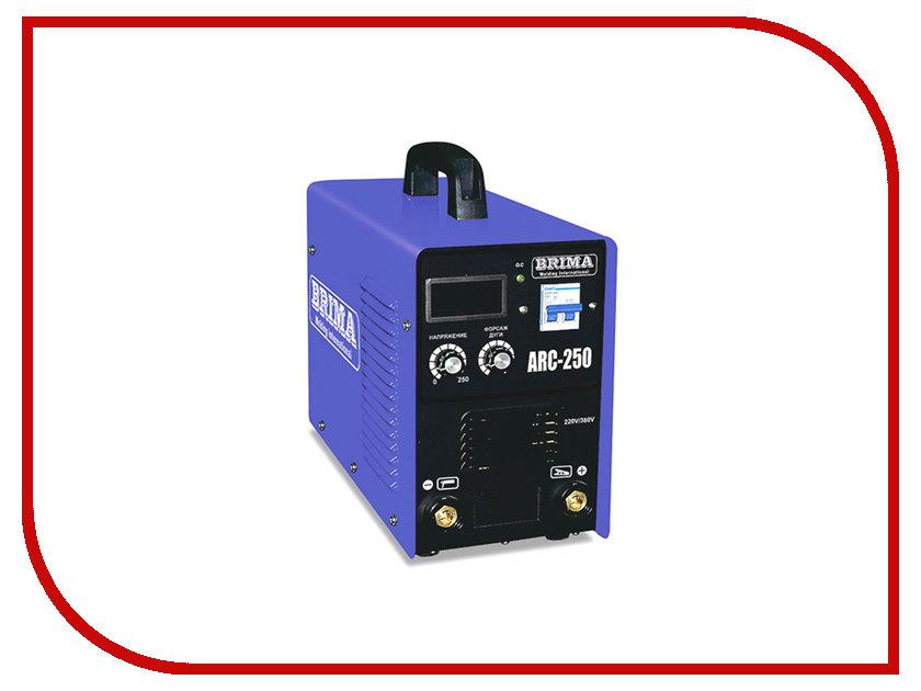 Сварочный аппарат BRIMA ARC 250 сварочный аппарат brima arc 160