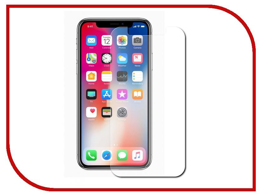 Аксессуар Защитное стекло Svekla для APPLE iPhone X ZS-SVAPX аксессуар защитное стекло svekla 3d для apple iphone 6 6s white frame zs svap6 6s 3dwh